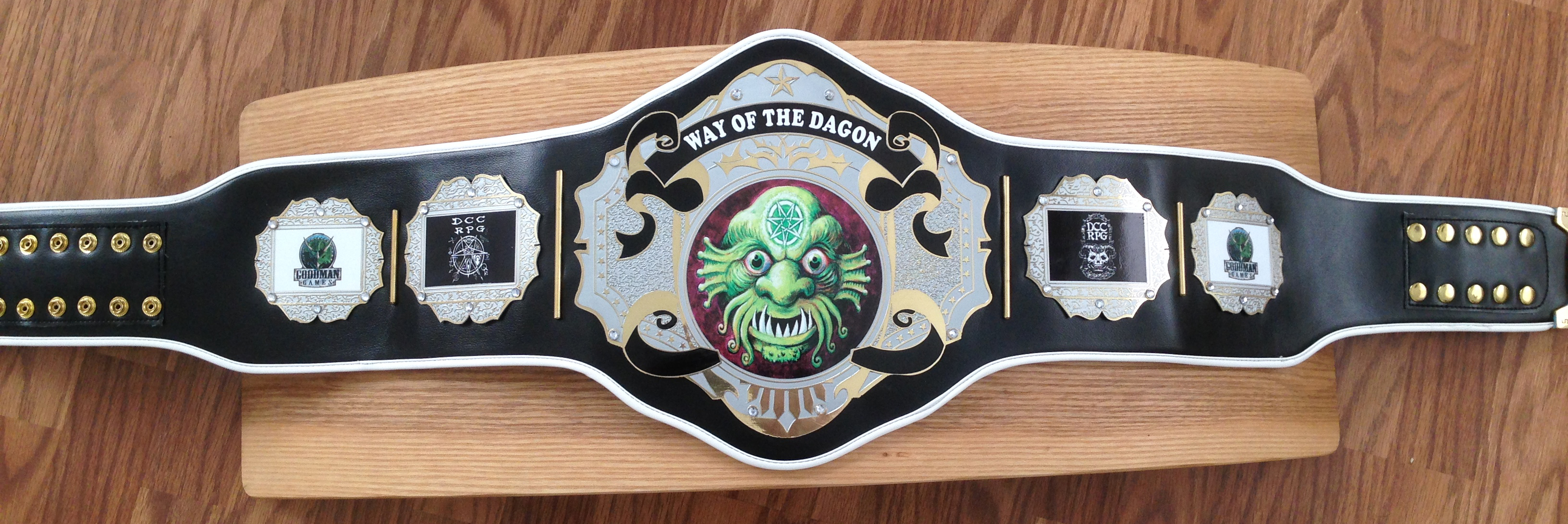 Way of the Dagon II                       belt