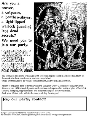 Join DCC RPG!
